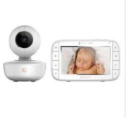 """Babyphone Vidéo 5"""" Motorola MBP 55 - Blanc"""