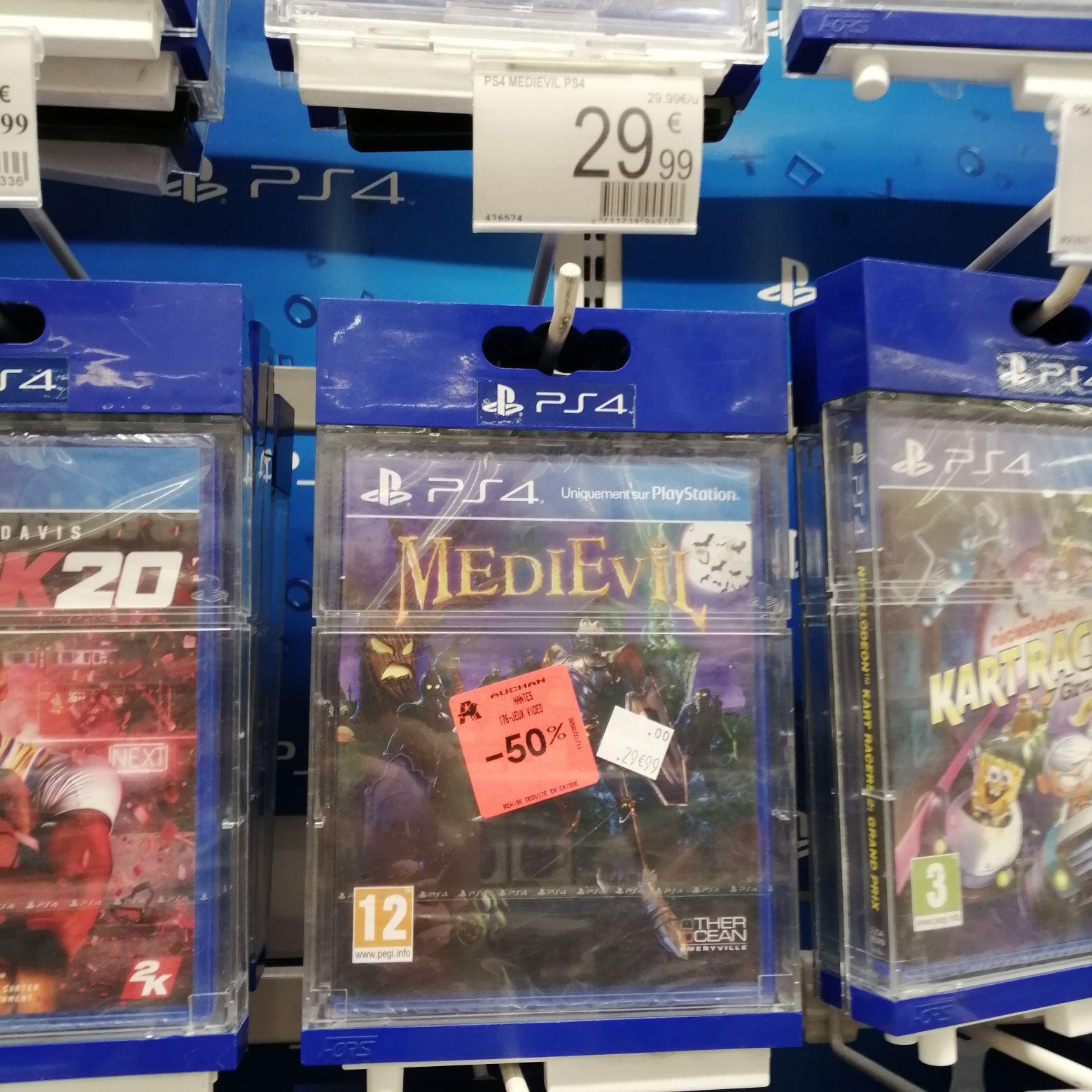 50% de réduction sur une sélection de jeux PS4 - Ex: Medievil - Buchelay (78)