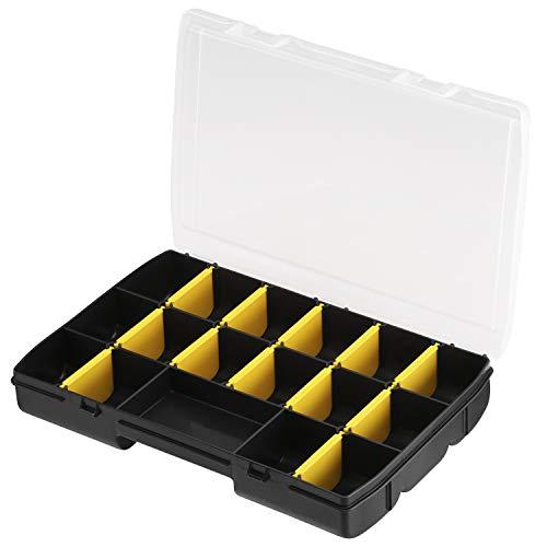 Boîte de rangement Stanley STST81680-1 - 17 compartiments, 27.2x18.9x4.6 cm