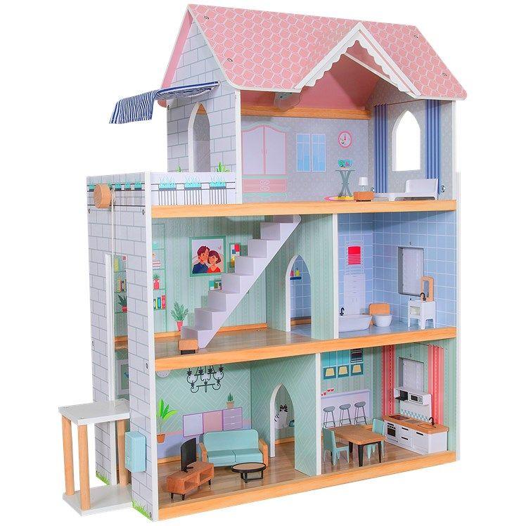 Jouet maison de poupées Mini Matters - en bois FSC
