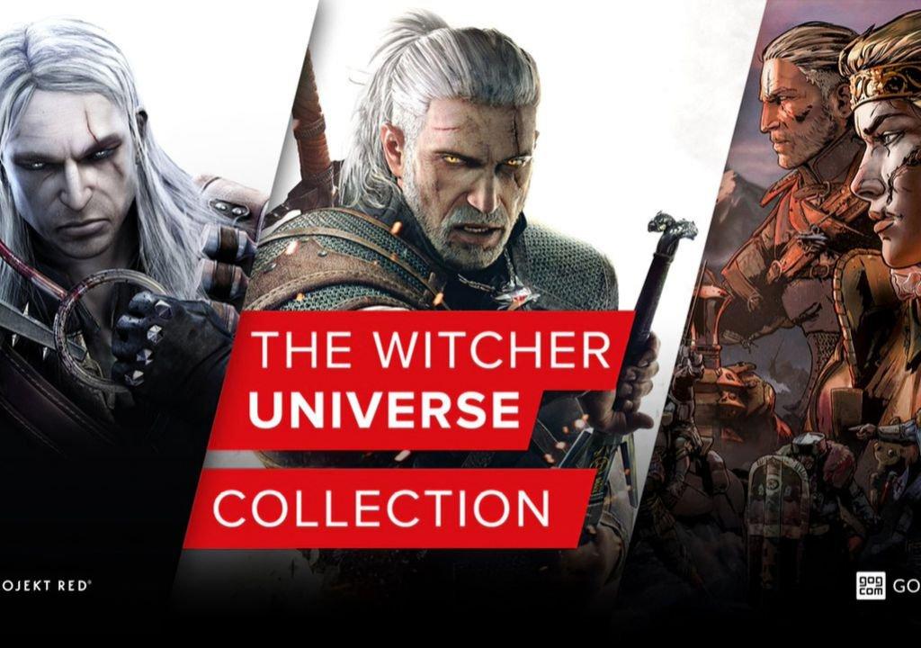 The Witcher Universe Collection: TW 1 + 2 + 3 GOTY + Thronebreaker sur PC (Dématérialisé - DRM Free - Via VPN Russie)