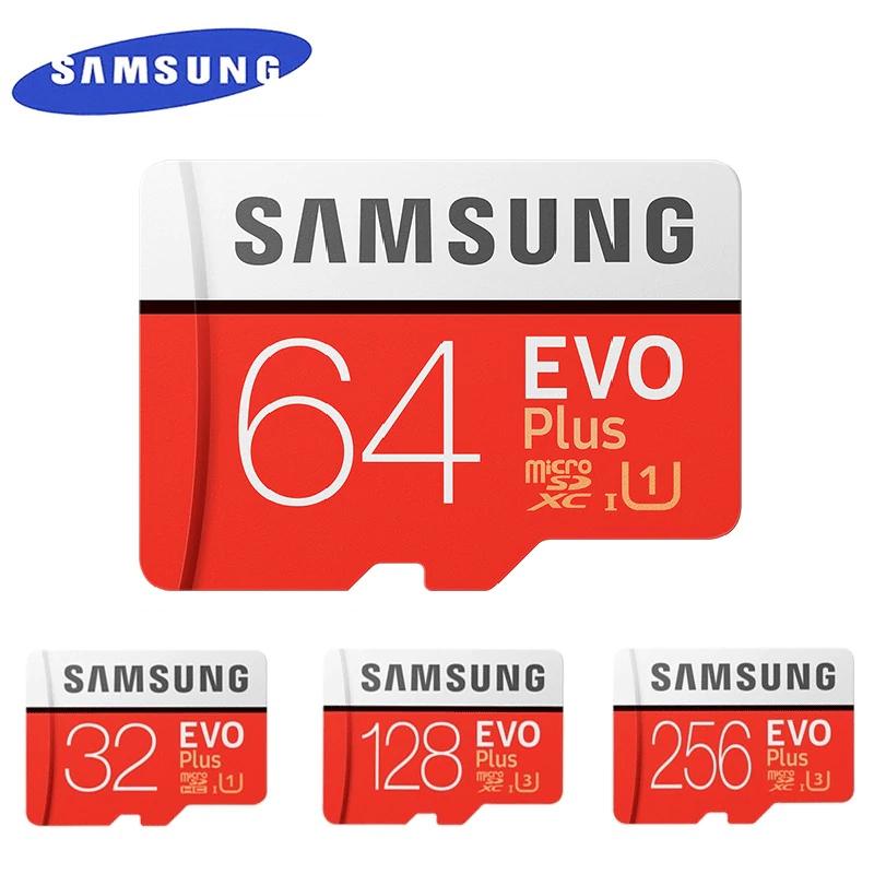 Carte microSDXC Samsung Evo Plus U3 (différentes capacités) - Ex : 128 Go