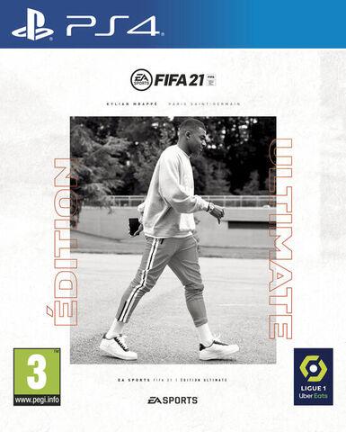FIFA 21 - Édition Ultimate sur PS4 / PS5 (Retrait magasin uniquement)