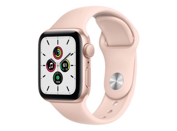 Montre connectée GPS Apple Watch SE - 40mm, Rose (Frontaliers Suisse)