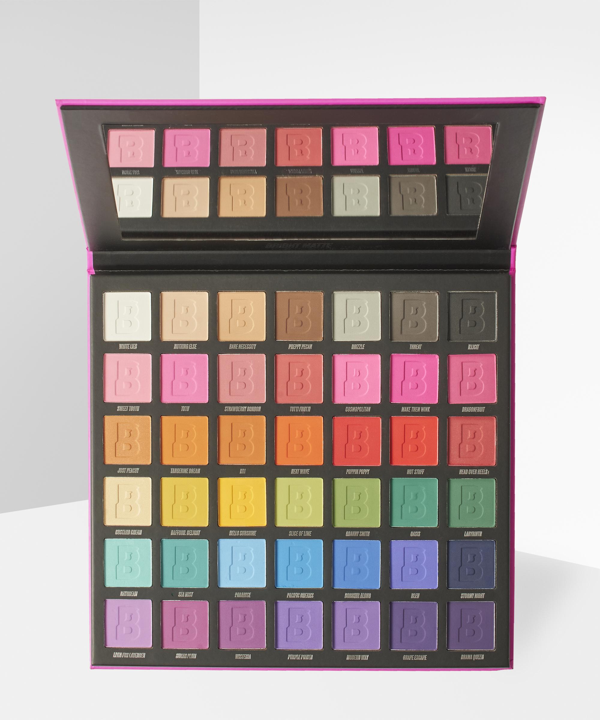 Palette de maquillage Bright Matte 42 Colour - BeautyBay.com