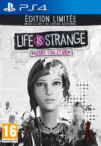Life is Strange: Before the Storm - Édition Limitée sur PC, PS4 et Xbox One + figurines Chloe & Rachel