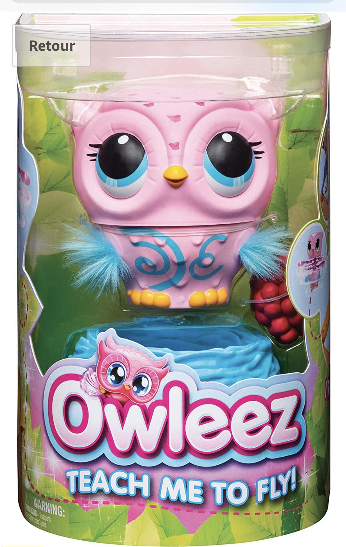 Jouet Animal volant interactif Chouette Owleez