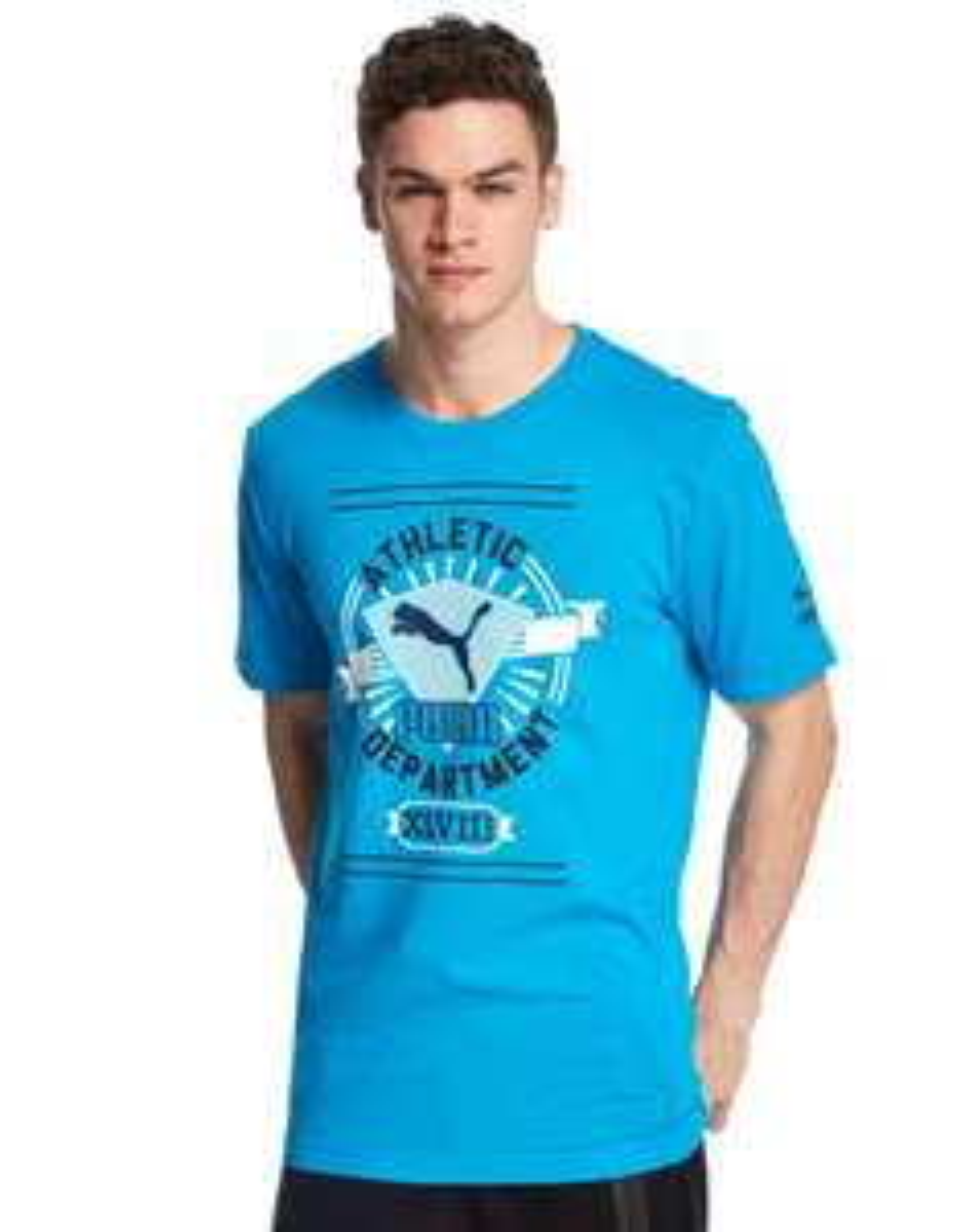 T-Shirt Puma Athletic Department 100% Cotton