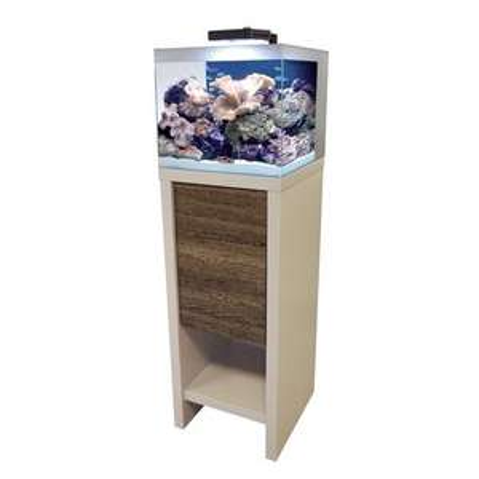 Aquarium eau de mer Reef M-40 - 53L + Meuble + équipements