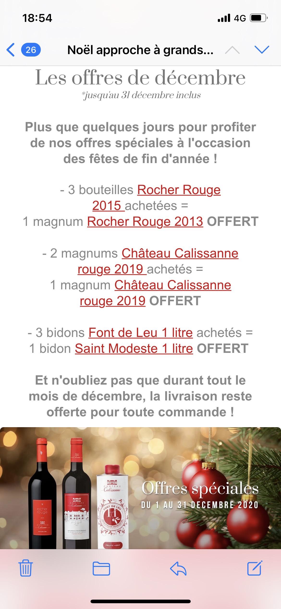 Sélection d'offres promotionnelles (calissanneboutique.fr)