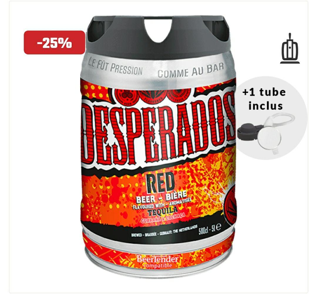 Fûts de bière Desperados Red - 5L