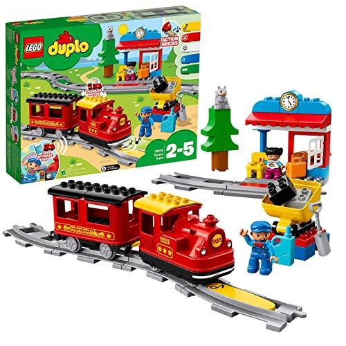 Jouet Lego Duplo 10874 - Le train à vapeur
