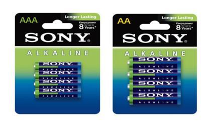 Pack de 60 piles Sony (32 x AA + 28 x AAA)
