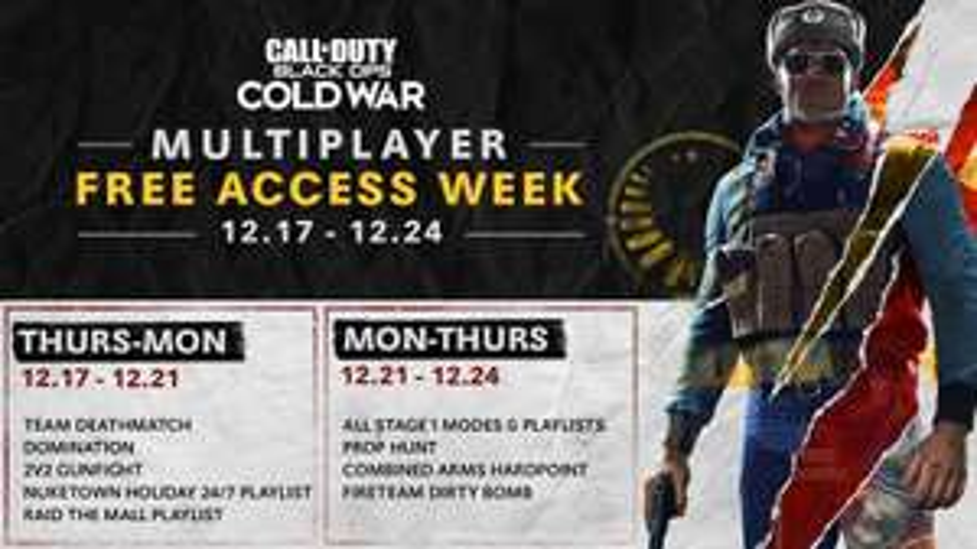 Accès gratuit au Multijoueur de Call of Duty: Cold War (Dématérialisé)
