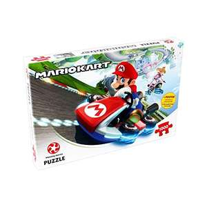 Puzzle Winning Moves Mario Kart Funracer (1000 pièces) + POSTER