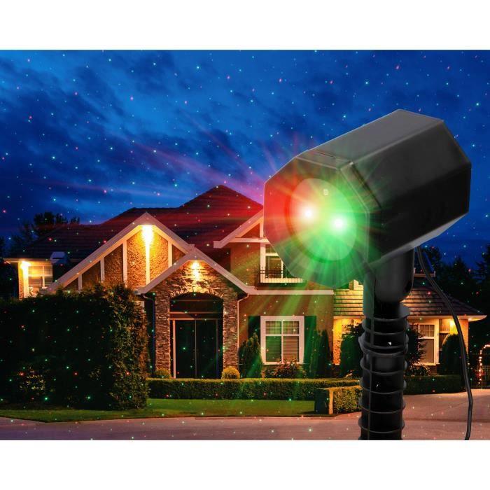 Projecteurs laser d'extérieur Grundig Plug and Play - 3 options d'éclairage