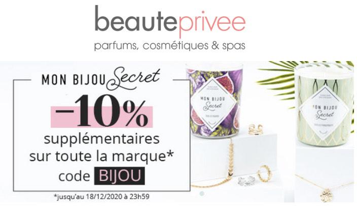 10% de réduction sur la marque Mon Bijou Secret