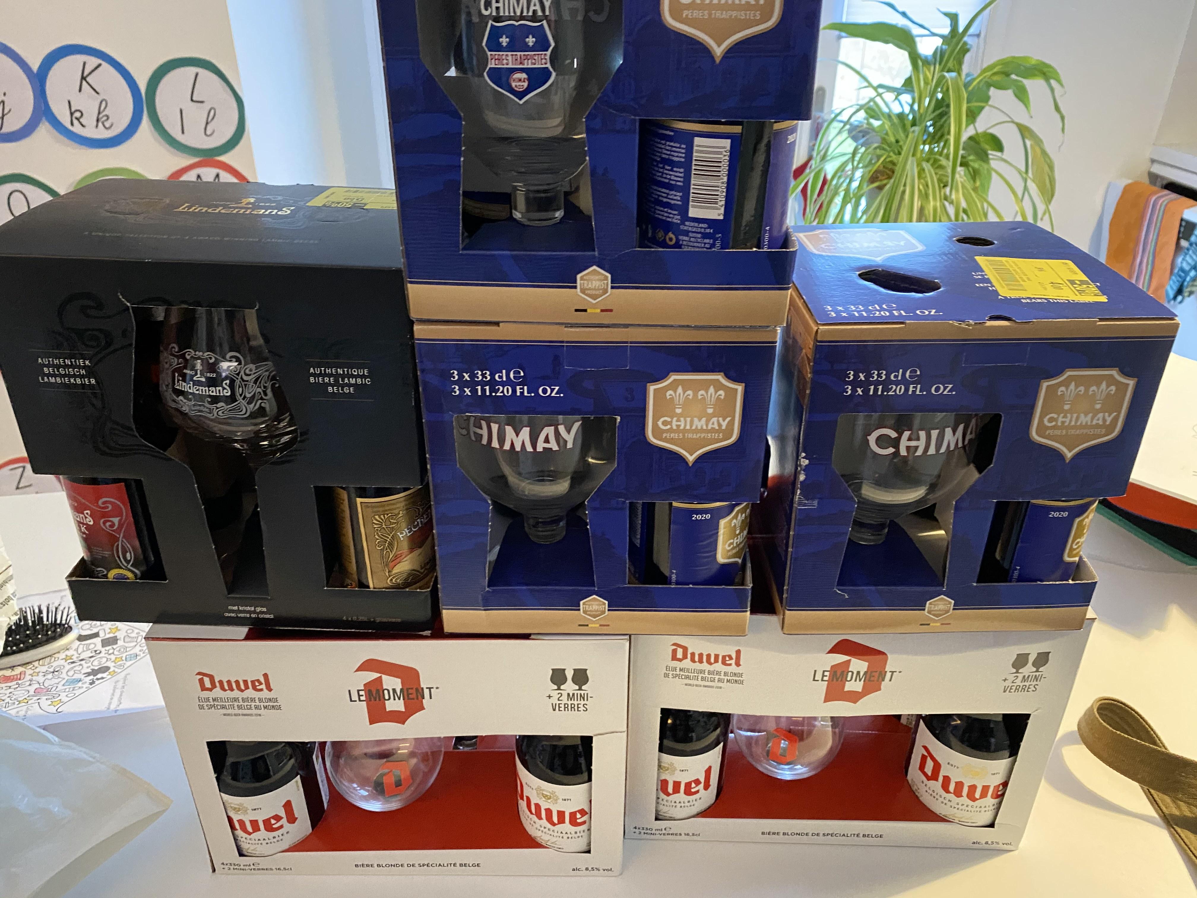 Sélection de bières en promotion - Ex : pack de 3 bières Chimay Bleu + verre - Champs-sur-Marne (77)