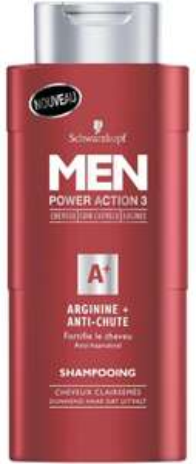 Shampooing Men de Schwarzkopf Power Action 3 (avec BDR)