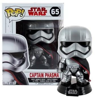 Funko Pop Star Wars The Last Jedi - Stormtrooper Captain Phasma