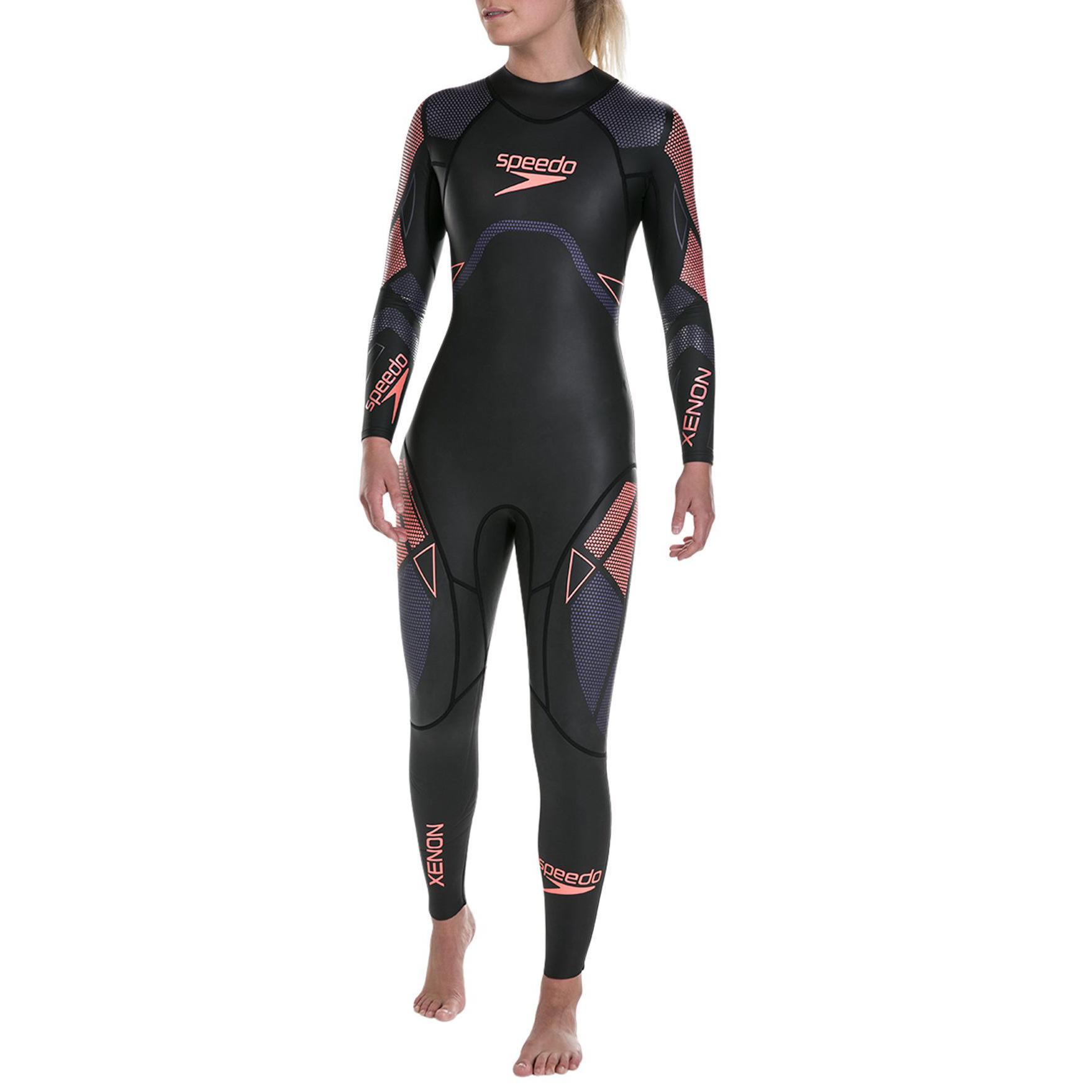 Combinaison de nage Speedo Xenon pour Femme - noir et violet