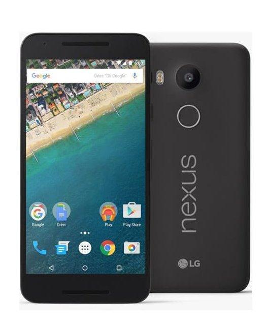 """Smartphone 5.2"""" LG Nexus 5X Noir 16Go"""