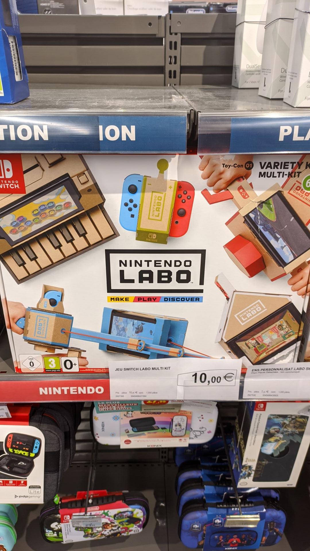 Pack Nintendo Labo Variety (Pornic 44)