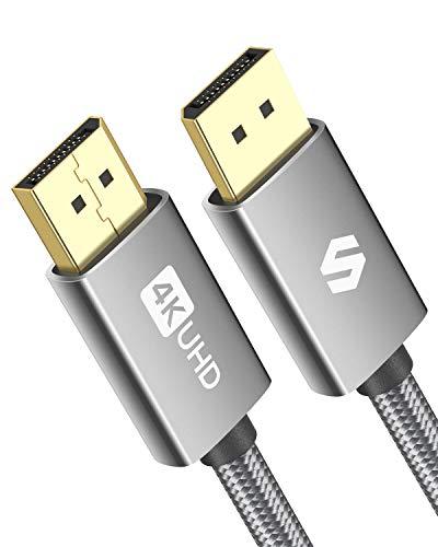 Câble Displayport 1.2, compatible G-Sync / FreeSync, 2 mètres (Vendeur tiers)