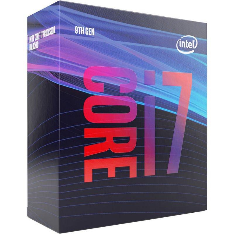 Processeur Intel i7-9700 - 3.0 GHz, Mode Turbo à 4.7 GHz