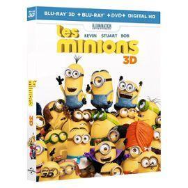 Coffret Les Minions en Blu-ray 3D + Blu-ray + DVD