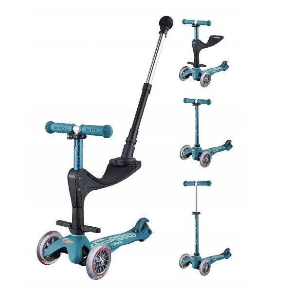 Trottinette / porteur Micro Mobility Mini Micro 3-en-1 Deluxe Plus - bleu