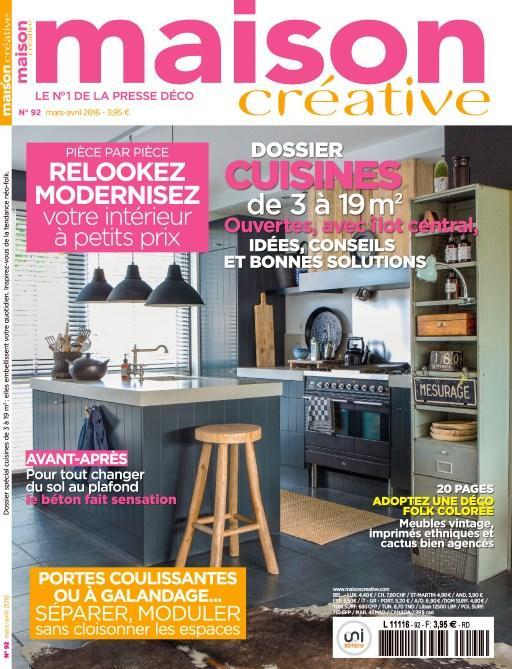 Magasine Maison Créative n°92 Gratuit (Version numérique)