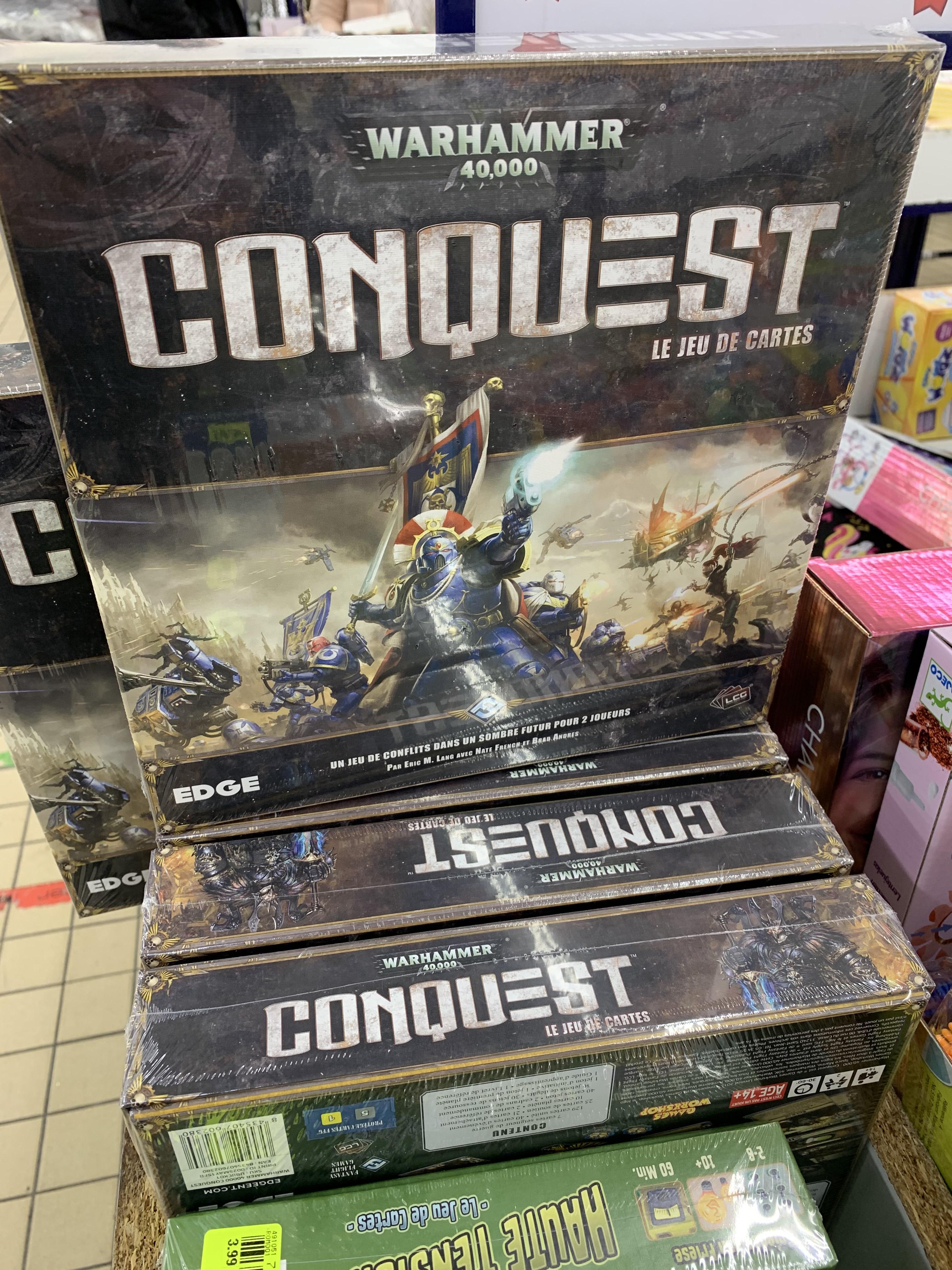 Jeux de carte Warhammer 40,000: Conquest (Montataire 60)