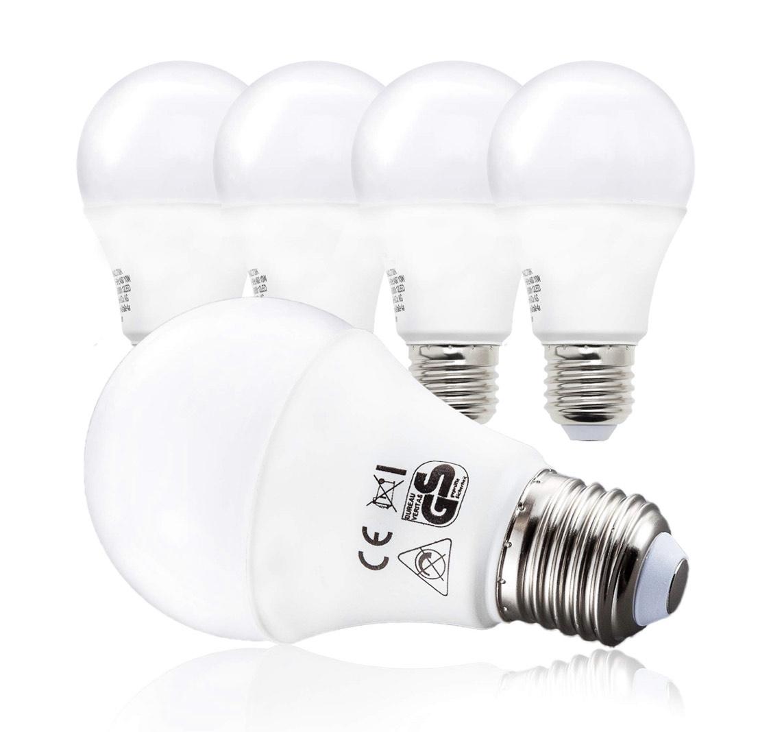 Lot de 5 ampoules led E27 B.K.Licht (Vendeur Tiers)