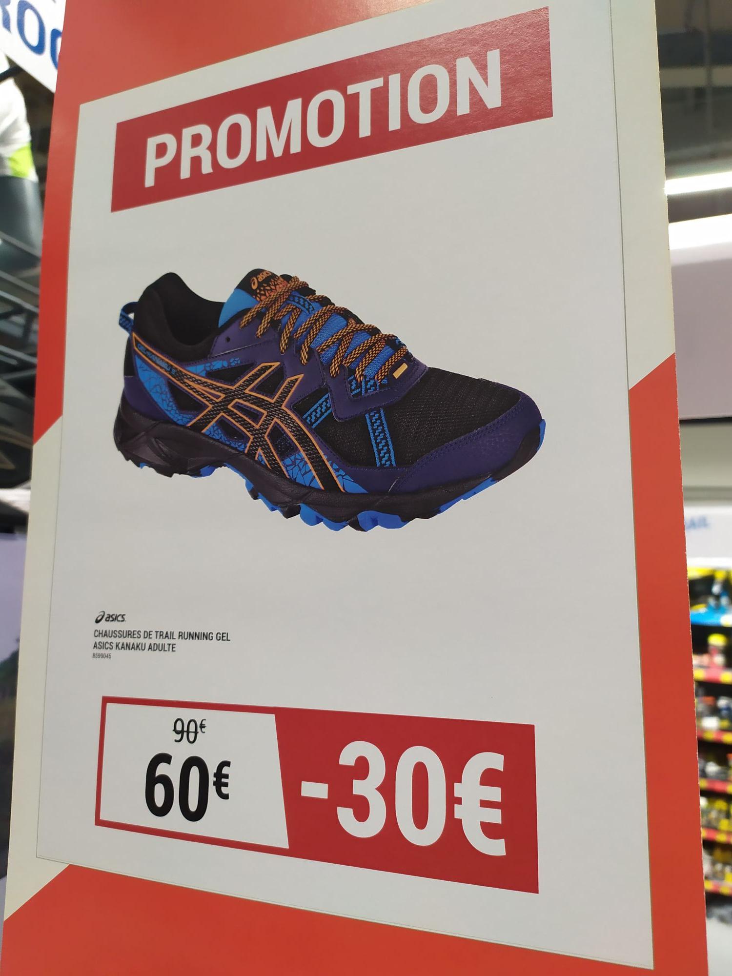 Chaussures de trail Asics Gel Kanaku 3 pour Homme - Bleu/Orange (Roanne Mably 42)