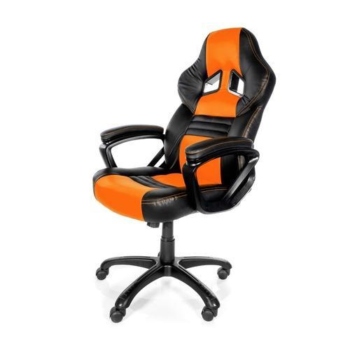 Siège Gaming Arozzi Monza - Orange et noir