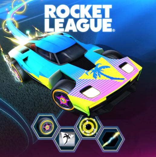 [PS+] Pack DLC Rocket League offert sur PS (Dématérialisé)