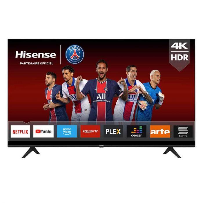 "TV 58"" Hisense 58A7100F - 4K UHD + 10 films en 4K HDR offerts"
