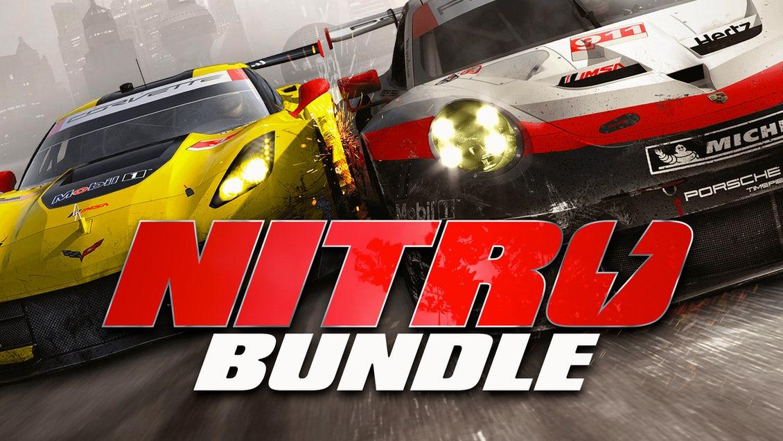 Nitro Bundle: 7 jeux PC dont Grid 2019, Redout, TT Isle Of Man, Project Cars GOTY... (Dématérialisé - Steam)