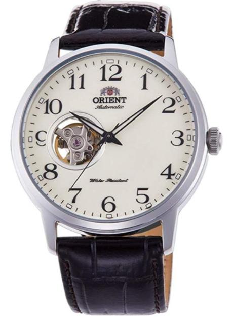Montre automatique Orient Open Heart RA-AG0010S10B - Bracelet cuir (Vendeur tiers)