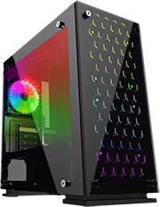 PC Gaming - AMD Ryzen 5 5600X, Palit RTX 3060 Ti, 16 Go DDR4 2666 MHz, SSD 500 Go, Carte Mère Asus Prime B450M A, Alim. 700W