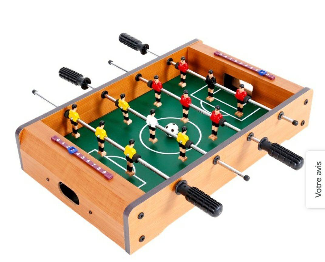 Baby-foot de table petit format - 9.5 x 50.5 x 31.5 cm