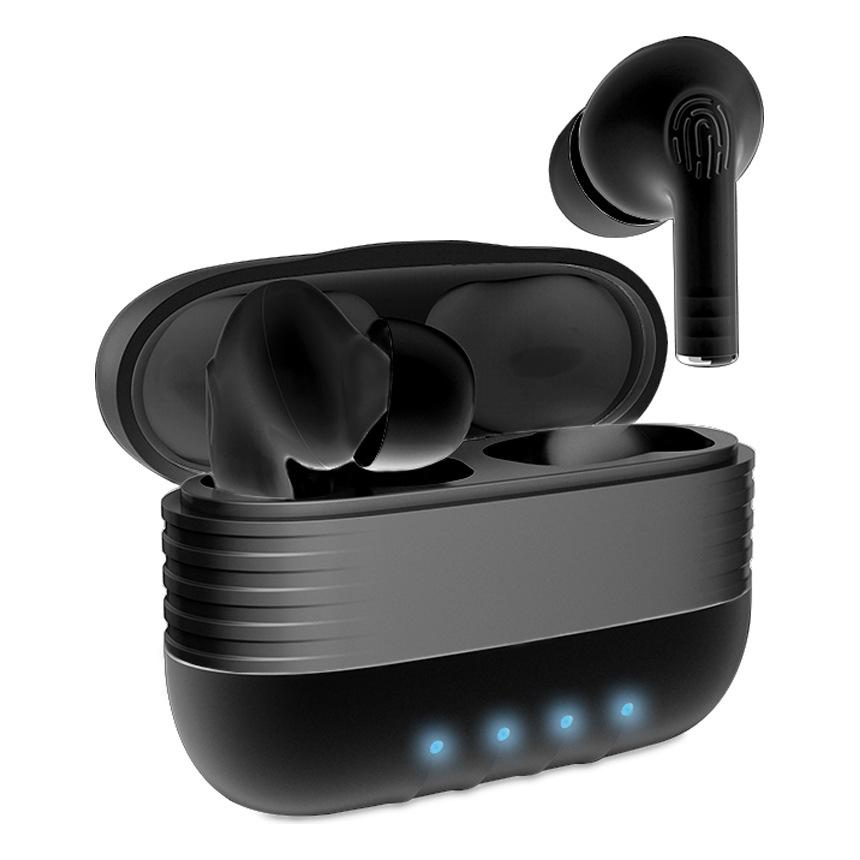 Écouteurs sans fil Unotec Twin 6 - Bluetooth, Noir ou Blanc