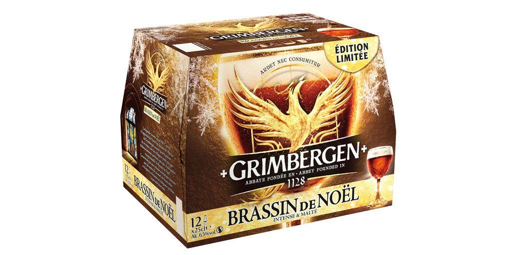 Pack de 12 bières Brassin de Noël Grimbergen - 12x25cl
