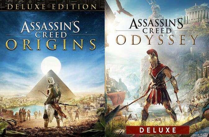 Assassin's Creed Origins Deluxe Edition à 5.39€ et AC Odyssey Deluxe Edition à 9.99€ sur PC (Dématérialisés)