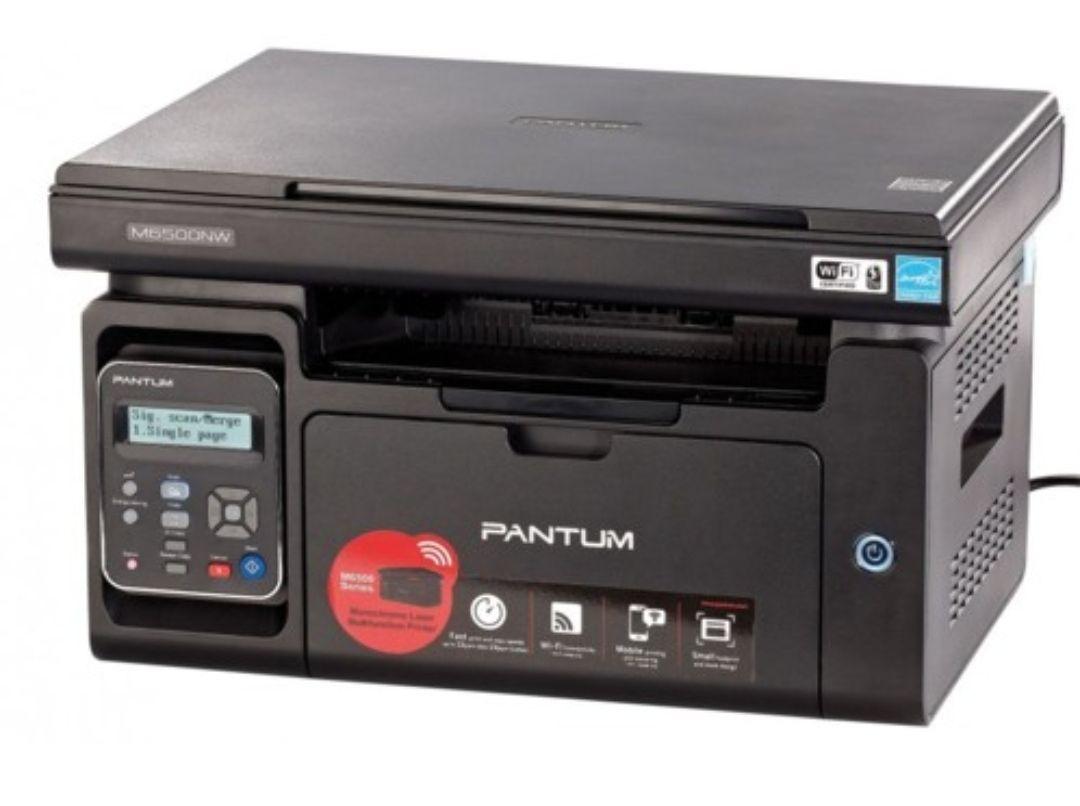 Imprimante Multifontion Laser 3-en-1 Pantum M6500NW Pro N&B