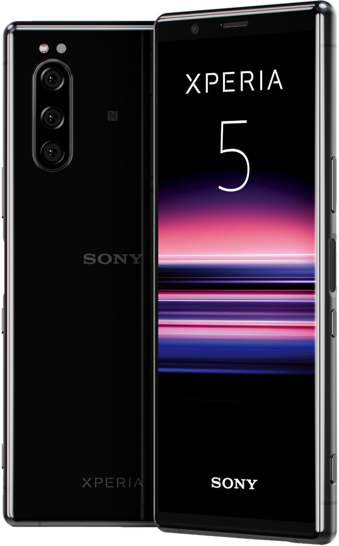 "Smartphone 6.1"" Sony Xperia 5 - WQHD+, SnapDragon 855, 6 Go de RAM, 128 Go, noir (via retrait en magasin)"