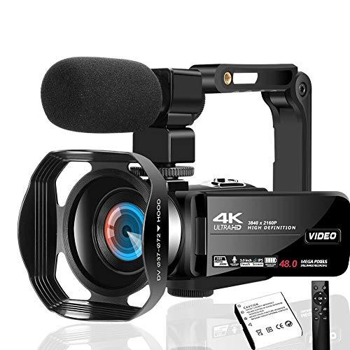 Caméscope Lincom avec Microphone - 4K (Vendeur tiers)