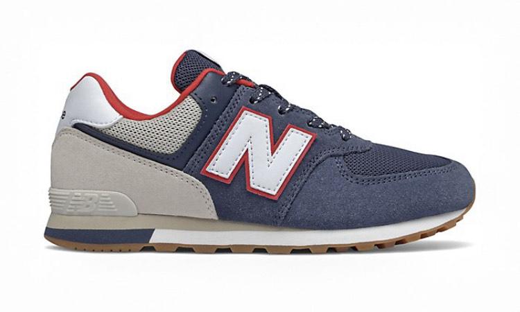 Sneakers New Balance GC575M en cuir - Tailles 35,5 au 40