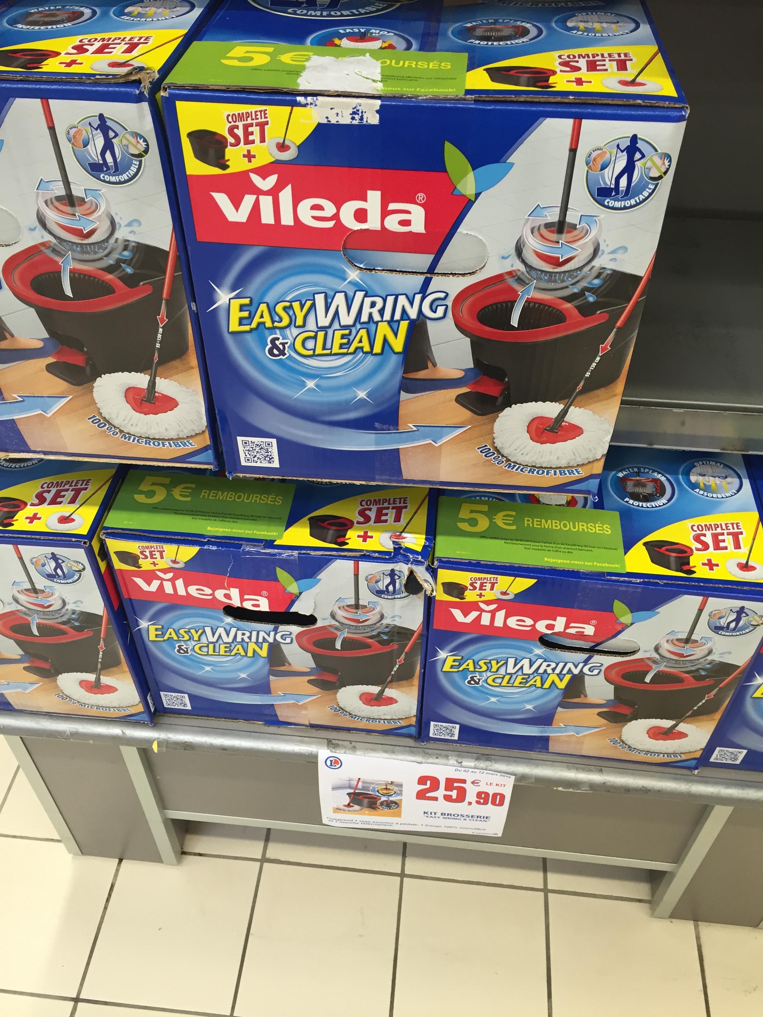 Balai Vileda Easy Wring & Clean (avec pedale)